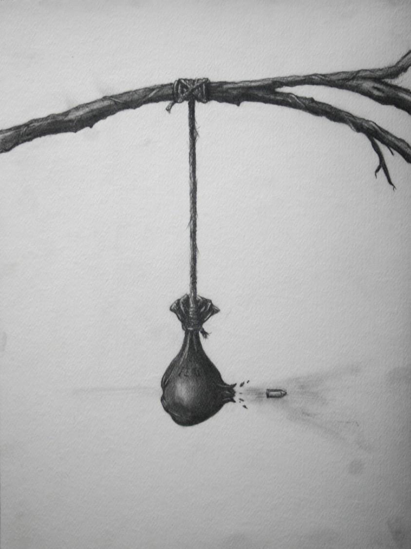 Bullet and Bag Sketch