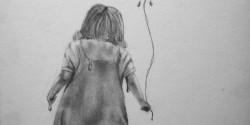 Melting Little Girl Sketch