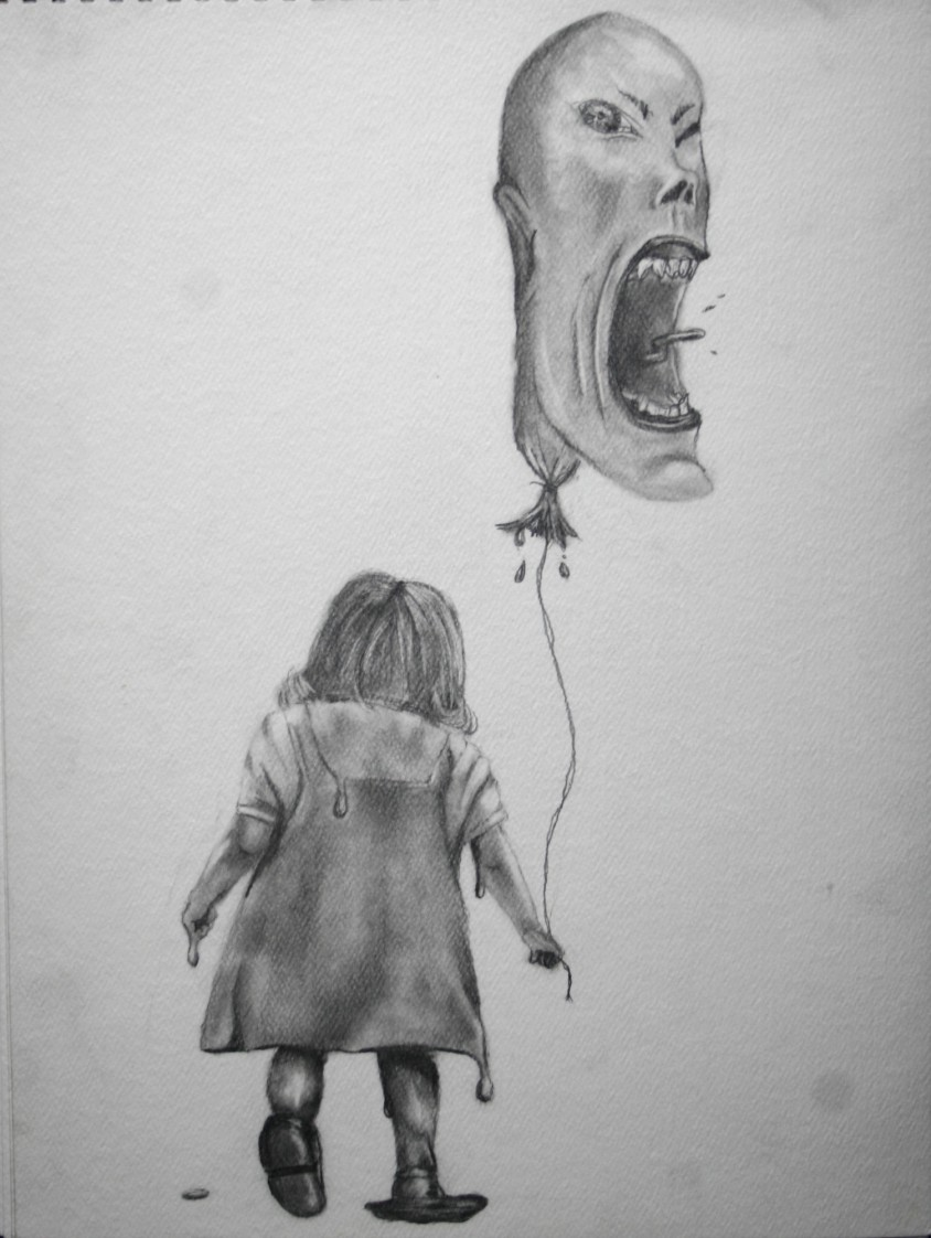 Melting Little Girl Sketch