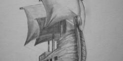 Pirate Ship Sketch