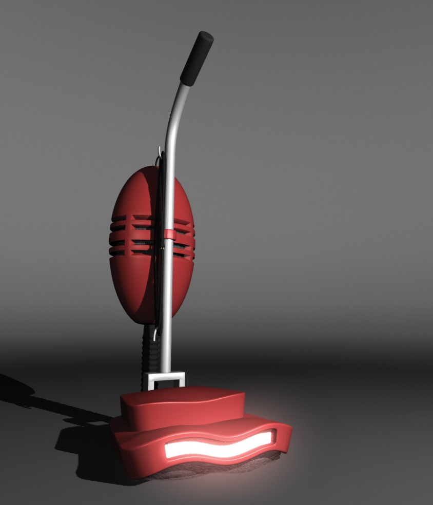 3D Vacuum Modeling - Angry