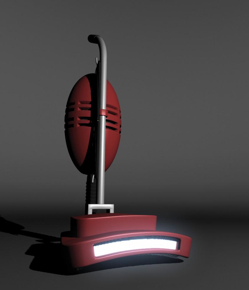 3D Vacuum Modeling - Calm
