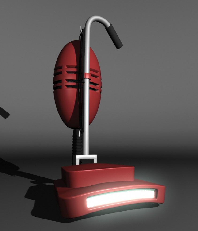 3D Vacuum Modeling - Sad