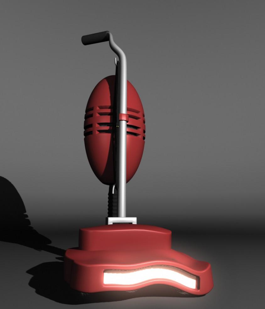 3D Vacuum Modeling - Unsure