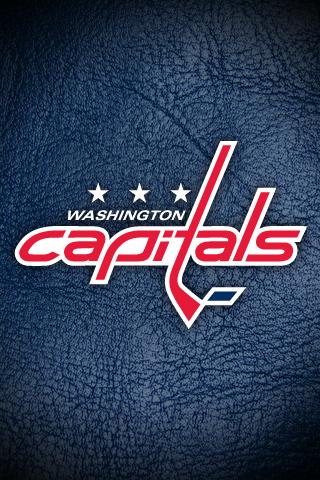 Washington Capitals Leather Mobile Wallpaper