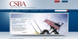 Center for Strategic and Budgetary Assessments Homepage