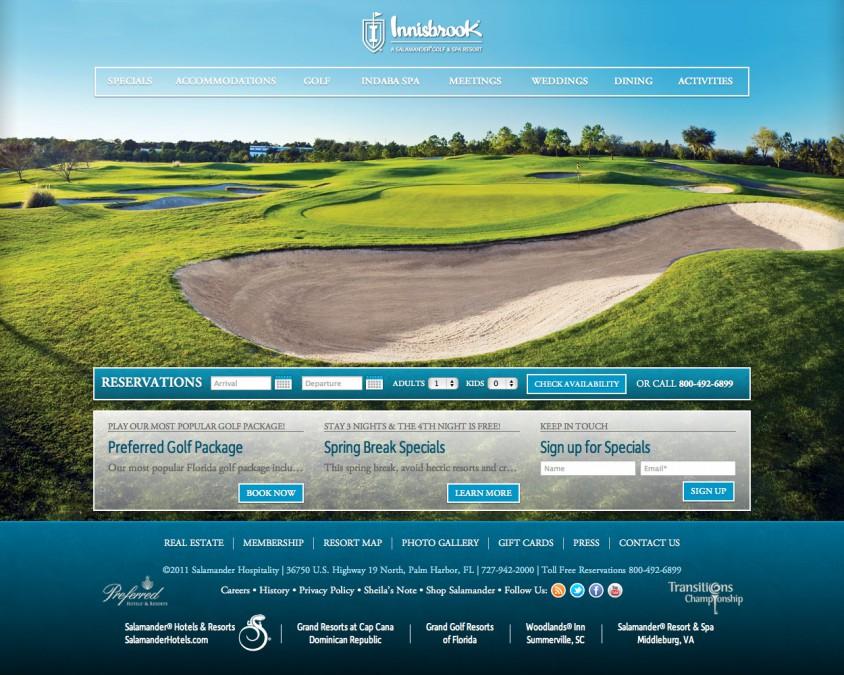 Innisbrook Golf Resort - Homepage