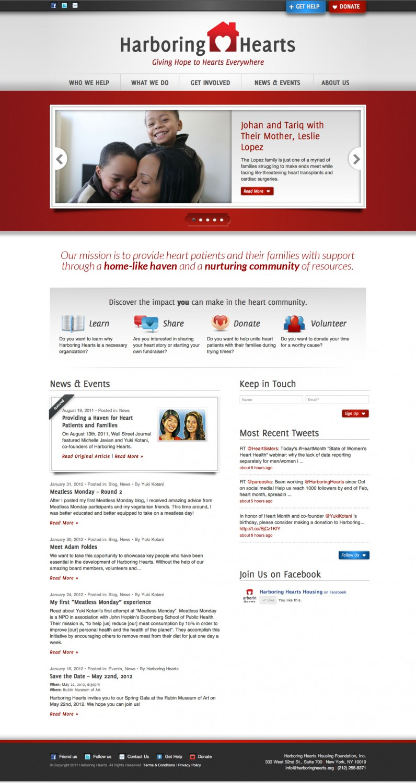 Harboring Hearts Website